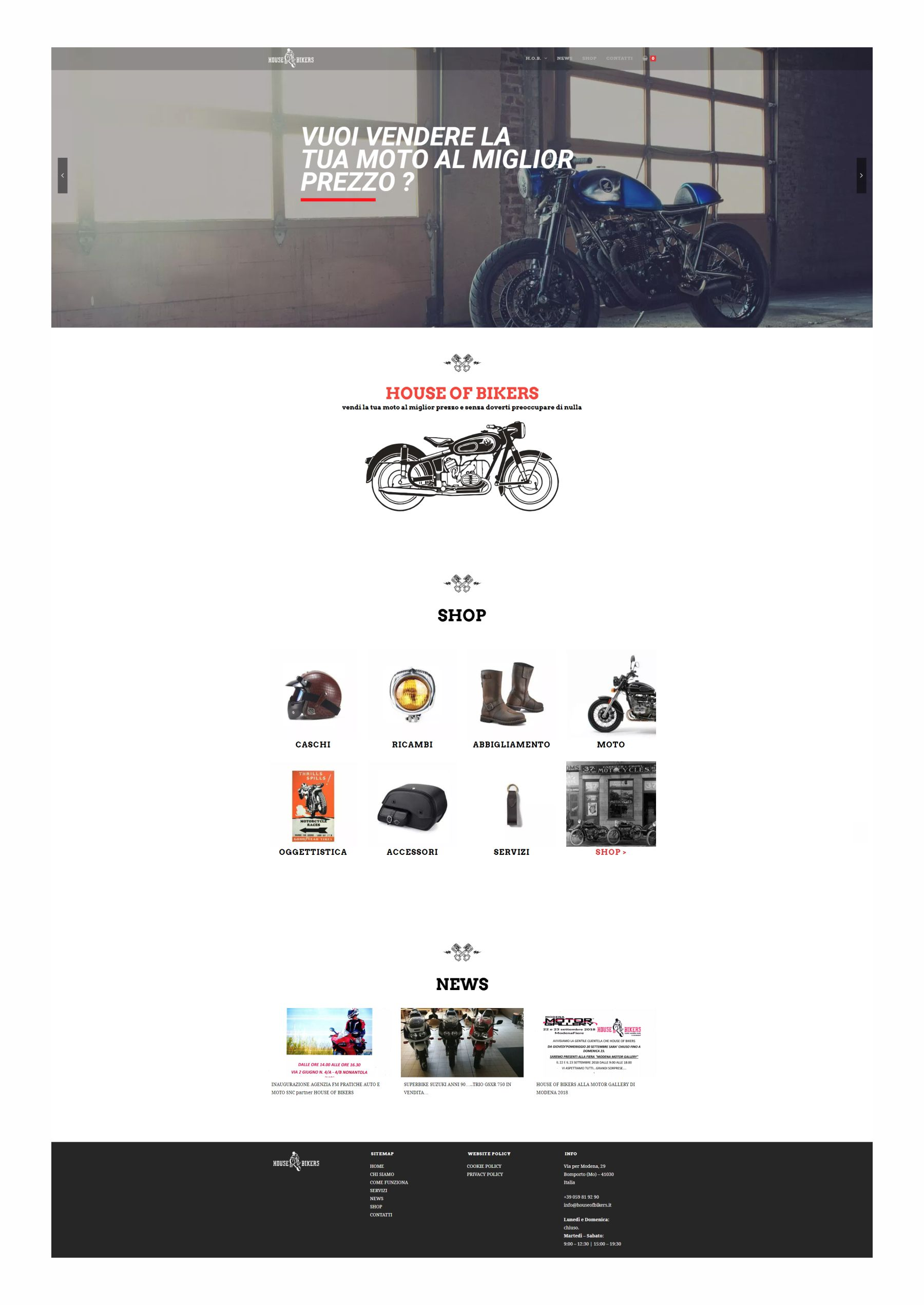 house of bikers layout web