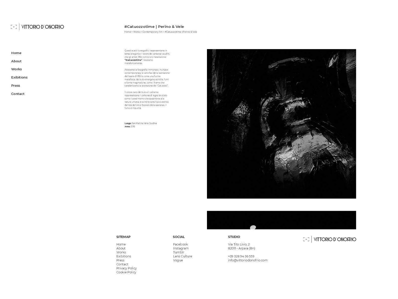 vittoriodonofrio.com layout web